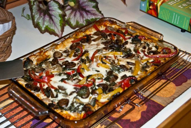 Vegetarian Lasagna, All Rights Reserved